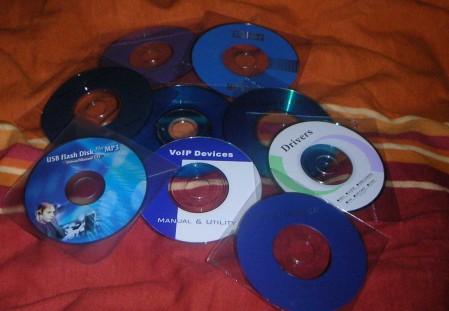 Treiber CDs